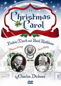 A CHRISTMAS CAROL with Fredric March