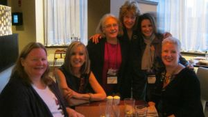 Barbara Ross, Hank Phillippi Ryan, Edith Maxwell, Leslie Wheeler, Liz Mugavero, yours truly