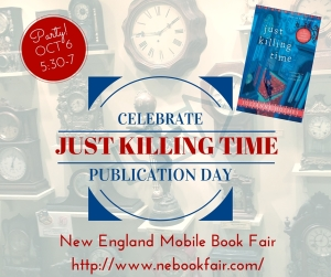 Photo for launch of Just Killing Time